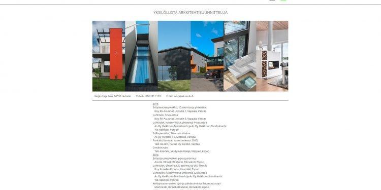 Arkkitehtistudio Tuomas Niemi Oy