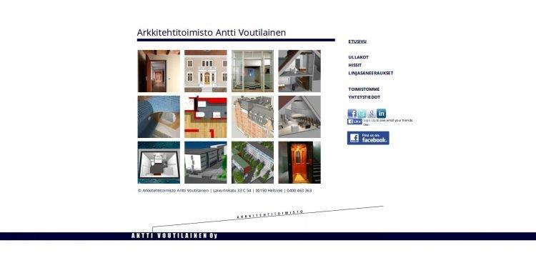Arkkitehtitoimisto Antti Voutilainen Oy