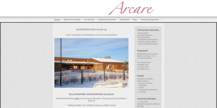 Arkkitehtitoimisto Arcare Oy