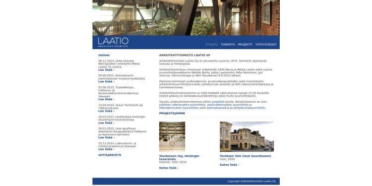 Arkkitehtitoimisto Laatio Oy
